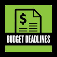 Budget Deadlines
